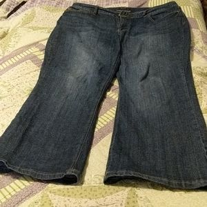 Maurice's curvy boot cut jeans